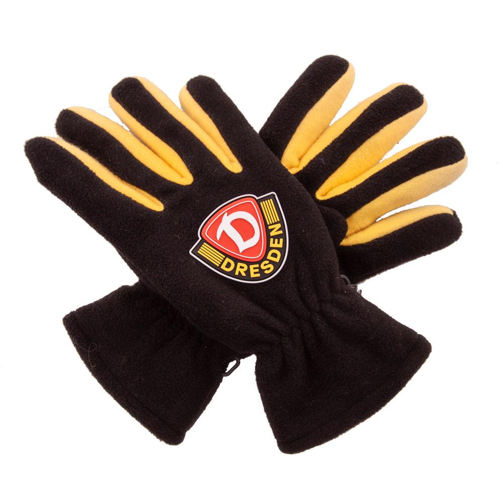 Handschuhe Fleece Logo