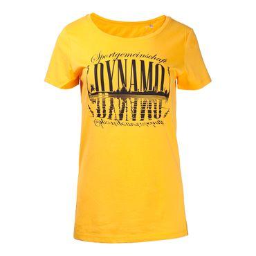 Damen-Shirt Silhouette gelb