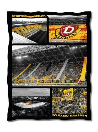 Fleecedecke Stadion 130 x 170