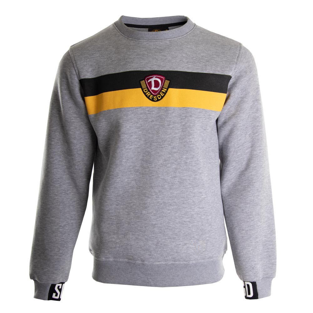 Sweater Streifen grau