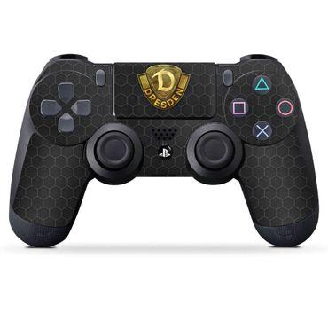 Design Skin - Sony Playstation 4 Controller LOGO GOLD