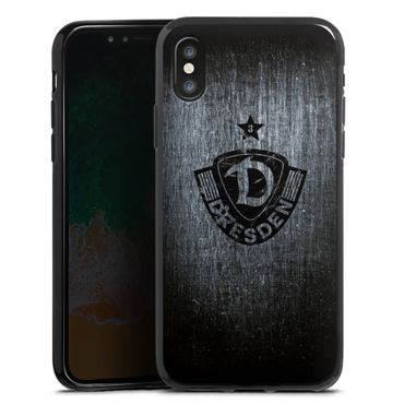 Handycase iPhone X / XS Silikoncase Ton in Ton (Scratch)