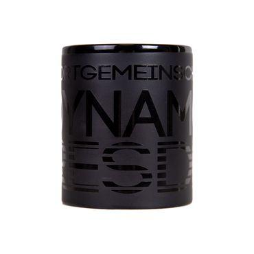 Kaffeetasse Ton in Ton matt-schwarz