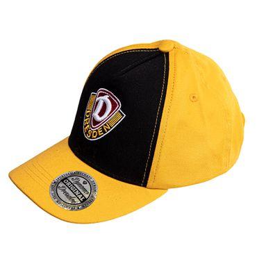 SG Dynamo Dresden Kinder Basecap Streifen gelb