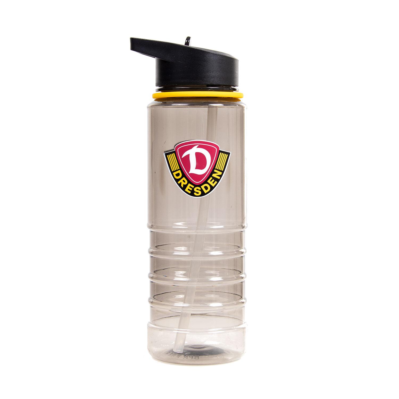 Trinkflasche LOGO schwarz-gelb