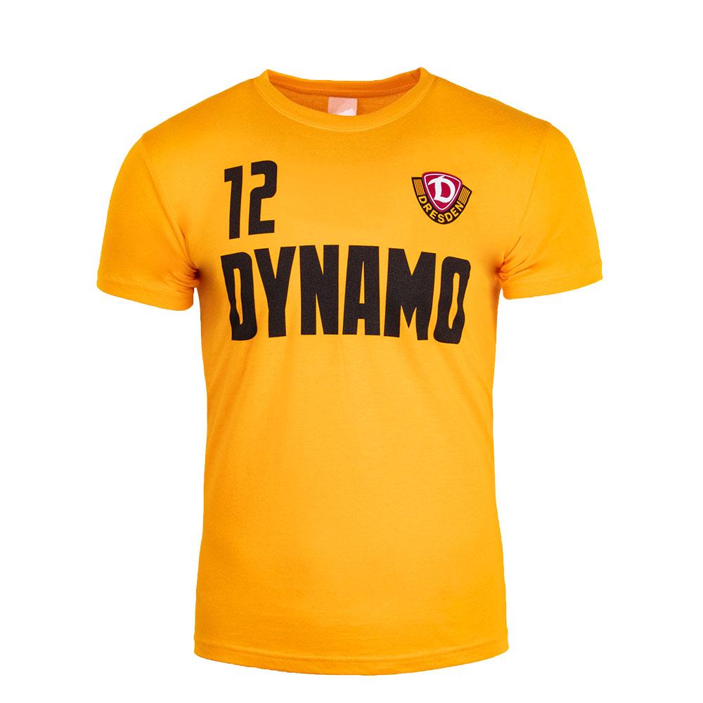 """Kinder T-Shirt DYNAMO """"12"""" gelb"""