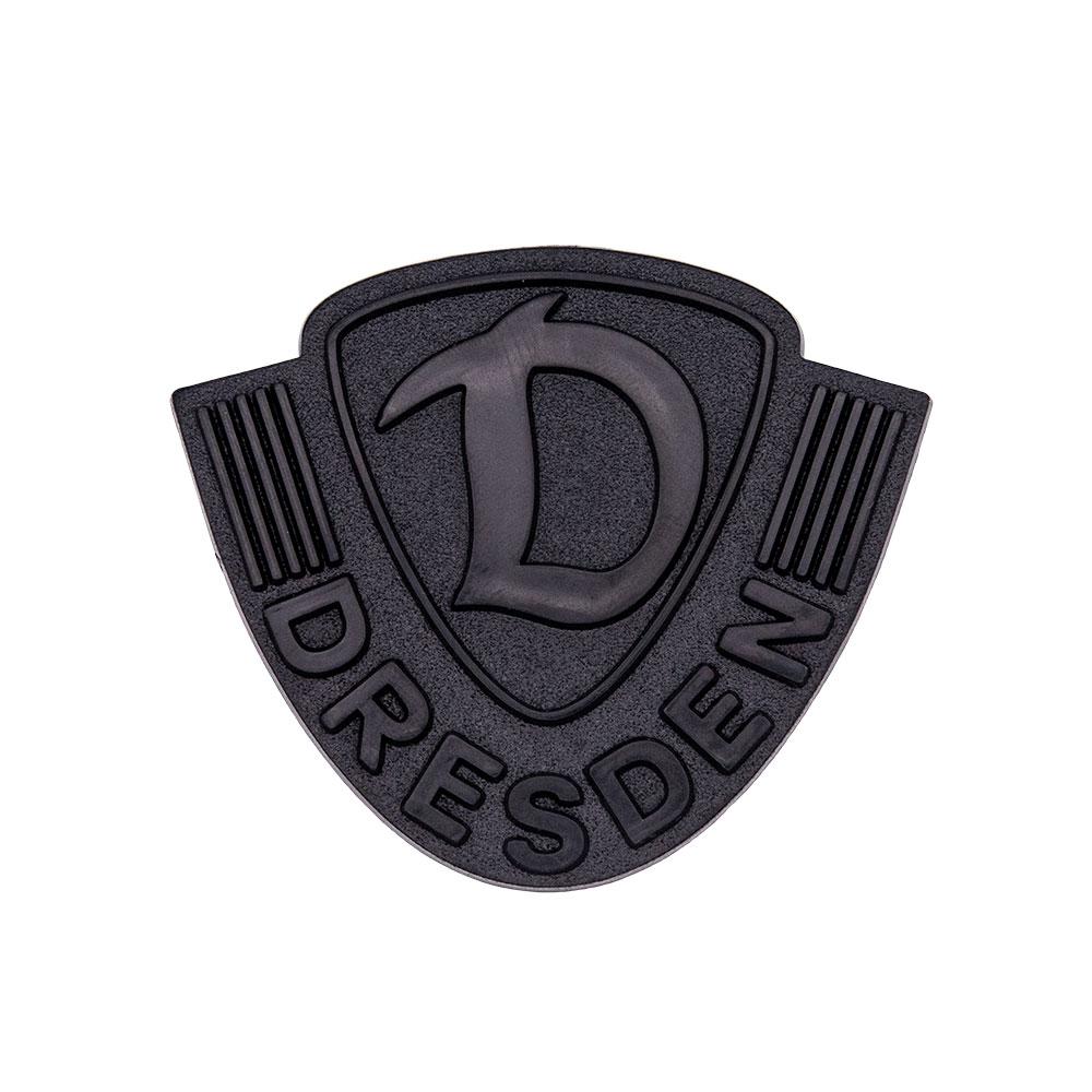 Aufkleber Logo DYNAMO matt-schwarz