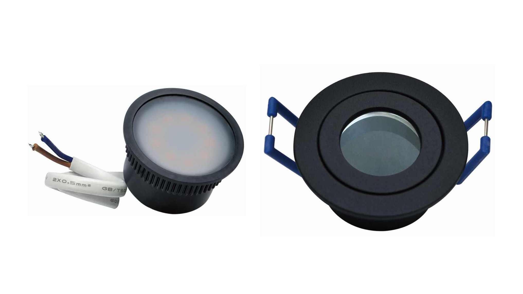 35mm Led Feuchtraum Spot