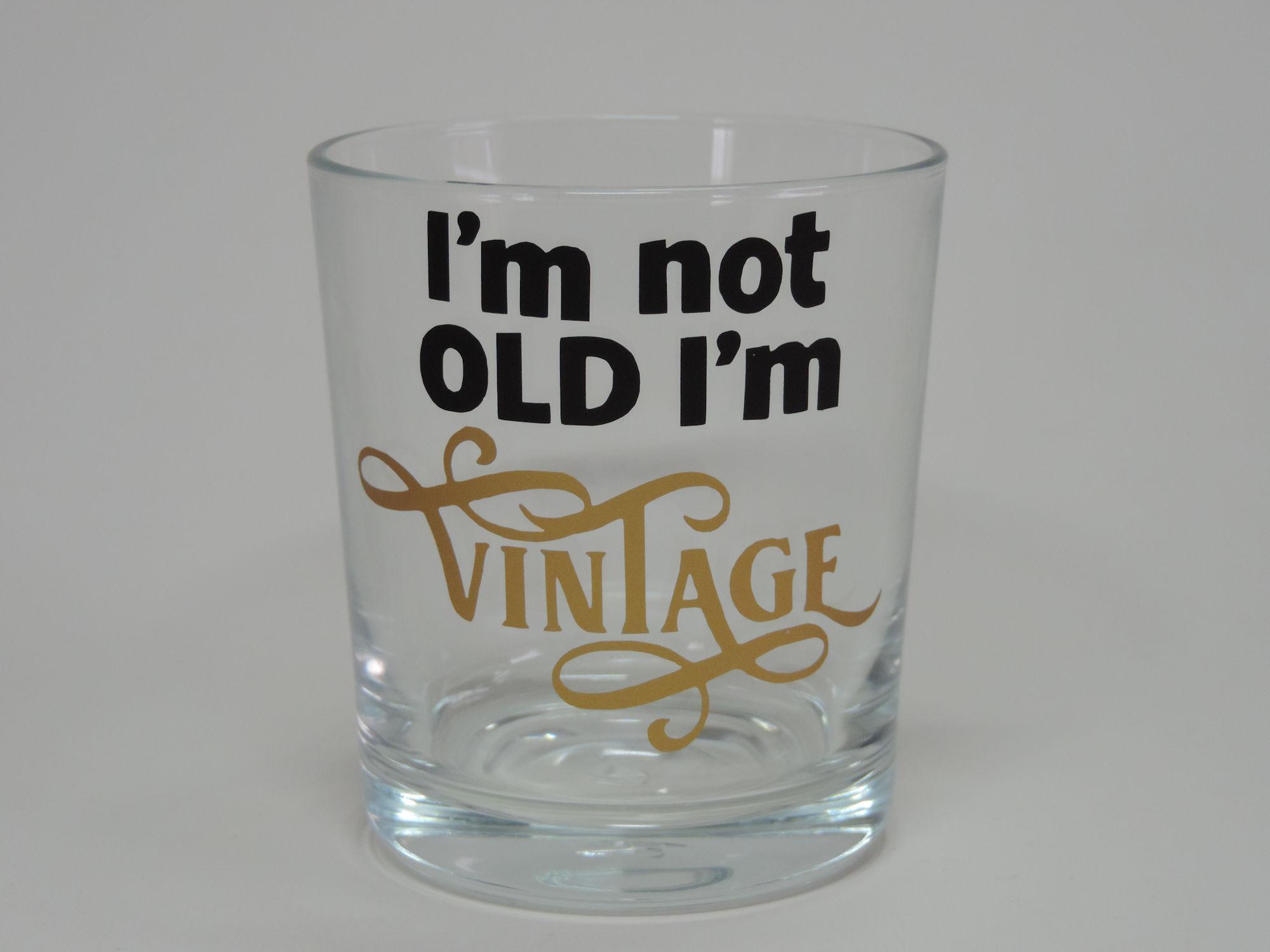 Teelicht Glas Windlicht Vintage sw/gold verziert Handmade Unikat Party Trinkglas, Party Glas, Disney, Unikat, personalisiert, Windlicht, Teelicht Glas, Ostern Häschen, Disney, Micky Maus