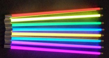 LED Leuchtstab IP20 violett Deko Stab – Bild 2