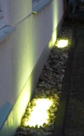 Led Gabionen Beleuchtung 45cm warmweiss 360° – Bild 3