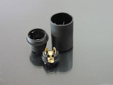 E14 Fassung Halter glatt Lampenfassung Kunststoff 230Volt max 60Watt