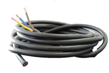 10m Schukokabel Lampenkabel Rundkabel Kunststoff schwarz 3x0,75qmm – Bild 1