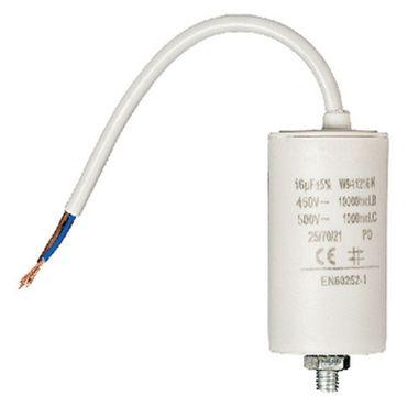 16mf Anlaufkondensator Motor Hexler Kondensator Pumpe mit Kabel