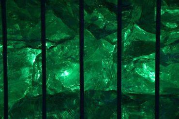 Led Gabionen Beleuchtung Leuchte Steinzaun Mauer 0,85m RGB 360° – Bild 8
