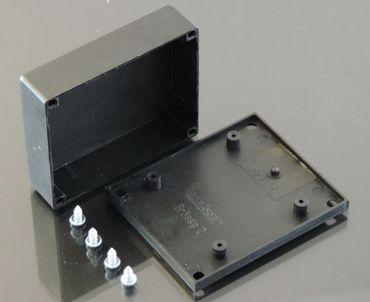3xGehäuse KMD03 schwarz Universal Leergehäuse