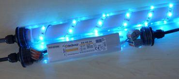 Led Gabionenbeleuchtung für Steinmauer Gabione 1m RGB IP65 Zaun – Bild 4