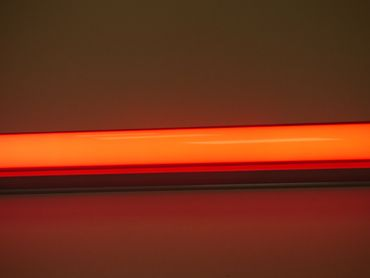 Led Leuchtstab Deko Party Garten Außen Deko IP44 63cm orange 10Watt  – Bild 1
