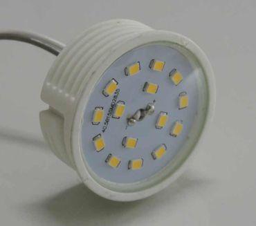 Led Flat Flach Modul Birne Lampe 230Volt 50x23mm warmweiss  – Bild 1