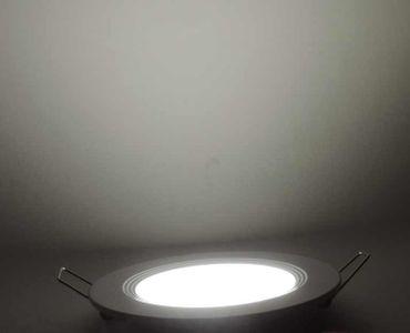 Led Panel Einbauleuchte Lampe Leuchte 6Watt nw 490 Lumen=50W IP20  – Bild 1
