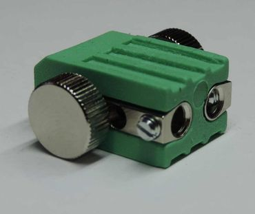 4xLed Fassung Lampenfassung Lampenhalter für GX5,3 Led oder Halogen grün – Bild 3