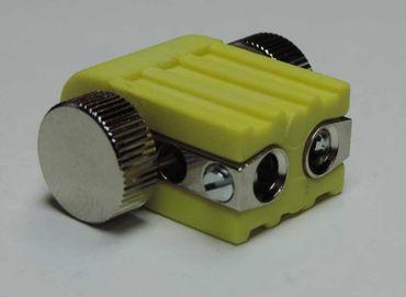 4xLed Fassung Lampenhalter Lampenfassung für GX5,3 Led oder Halogen gelb – Bild 3
