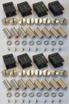 8xLed Fassung Lampenhalter für GX5,3 Led oder Halogen schwarz