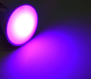 2x Led Bodeneinbaustrahler befahrbar rund+RGBWW Led mit Timer GU10 230 Volt  – Bild 5