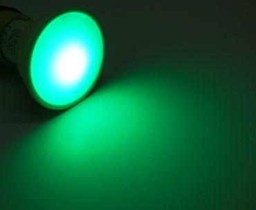 8xLed RGB+warmweiß GU10 mit Timer, Memoriefunktion und Fernbedienung 230 Volt – Bild 3