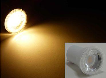 5xLed 35mm GU10 Glühbirne MR11 4Watt 250 Lumen warmweiss 230 Volt – Bild 1