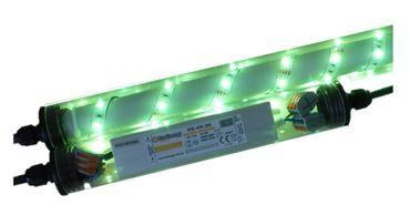 Led Gabionen Licht Beleuchtung LED 2x0,7m länge 360° Farbe grün Garten 230 V – Bild 2