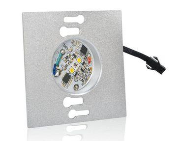 2xLed Treppenstufenbeleuchtung eckig anthrazit Duo RGB+KW Einbau 230V Wandlampe – Bild 5