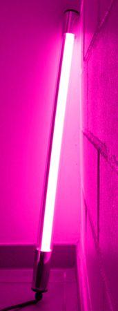 Led Leuchtstab mit Blendschutz KS Kabel schwarz 230V Party 60cm pink IP44 – Bild 5