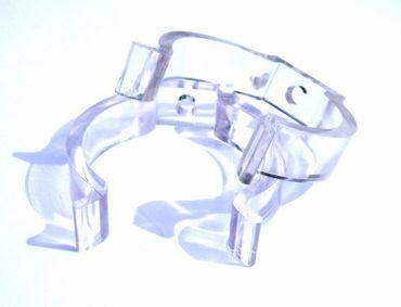 Led Leuchtstab mit Blendschutz KS Kabel schwarz 230V Party 60cm grün IP44 – Bild 8