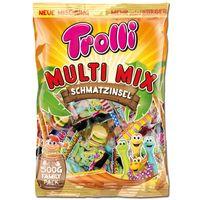 Trolli Multi Mix 500g Beutel, Fruchtgummi, Schaumzucker