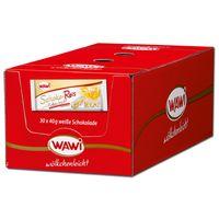 Wawi Schoko-Reis weiße Schokolade, Puffreis, 30 Riegel