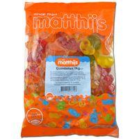 Matthijs Gomtieten, Fruchtgummi Brüste, 1 kg Beutel