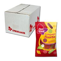 Red Band Fruchtgummi Assortie 100g Snackpack, 24 Beutel