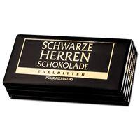 Schwarze Herren Schokolade 100g, 5 Tafeln