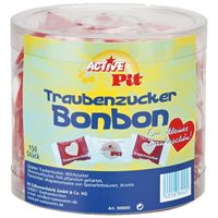 Pit Traubenzucker Bonbons 150 Stück einzeln verpackt