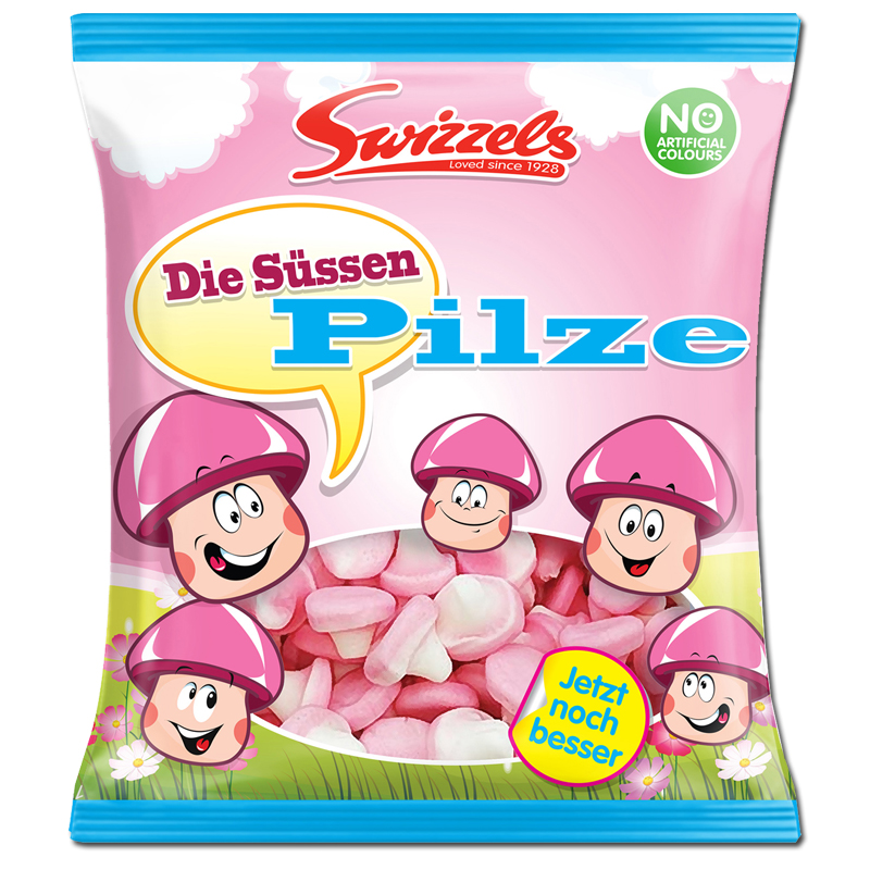 Süße Pilze