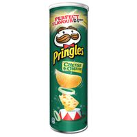 Pringles Cheese and Onion Chips 200g Dose