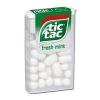 Ferrero Tic Tac fresh mint, Dragee-Bonbon, 18g Packung