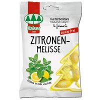 Kaiser Zitronenmelisse zuckerfrei, Bonbons, 75g Beutel