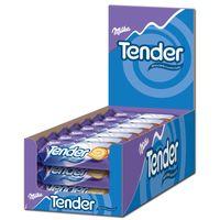 Milka Tender Milch, Biskuit, Schokolade, 21 Stück