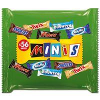 Mars Mixed Minis, Riegel, Schokolade, 1130g Beutel