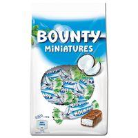 Bounty Miniatures, Riegel, Schokolade, 150g Beutel