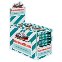 Fishermans Friend Spearmint ohne Zucker 24 Beutel