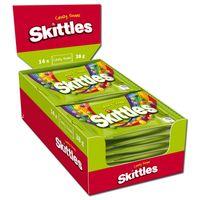 Skittles Crazy Sours 38g, Bonbons, Dragee, 14 Beutel