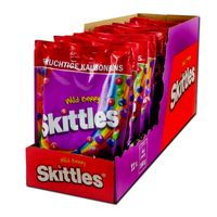 Skittles Wild Berry 160g, Bonbons, Dragees, 12 Beutel